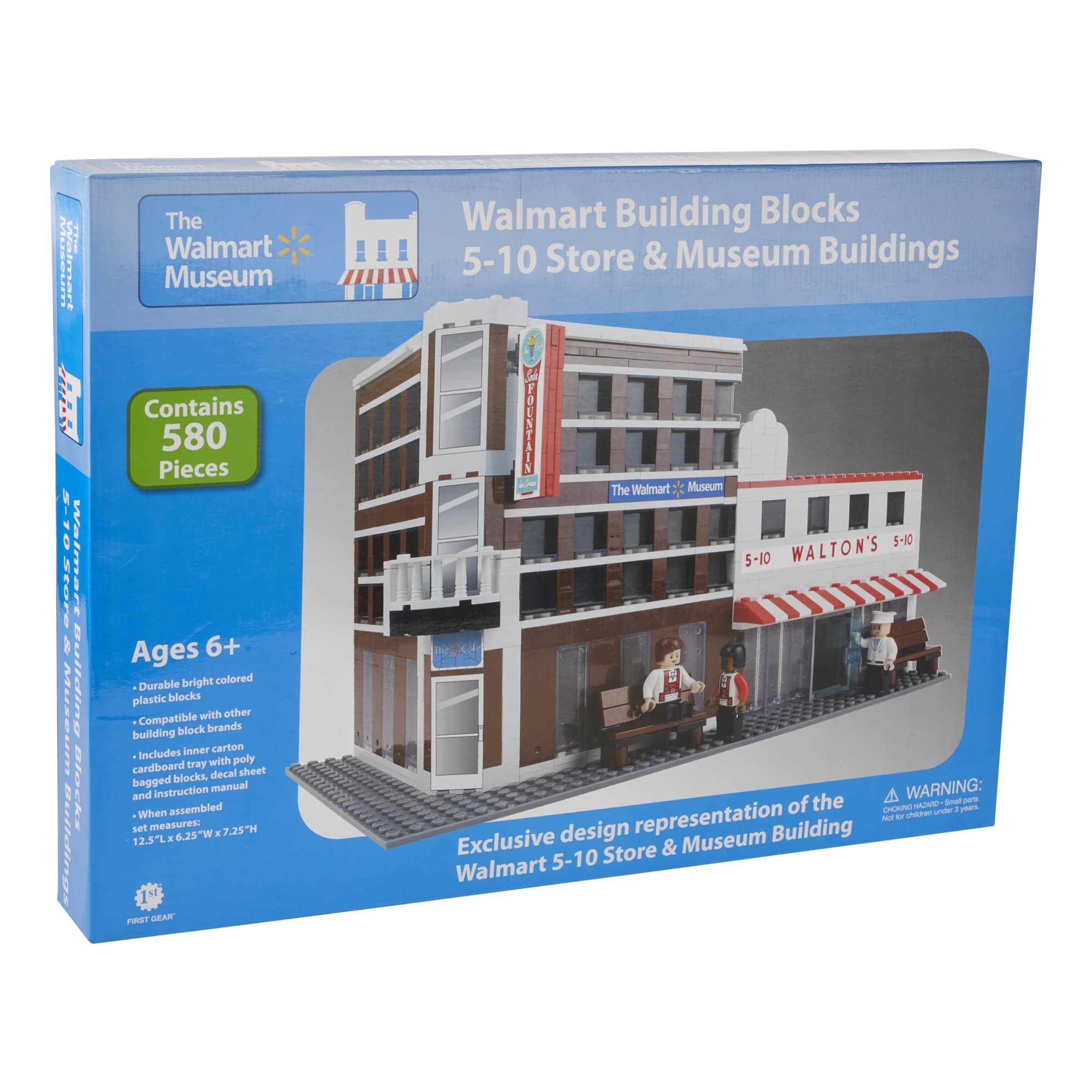 Walmart Building Blocks 5-10 Store & Museum Buildings